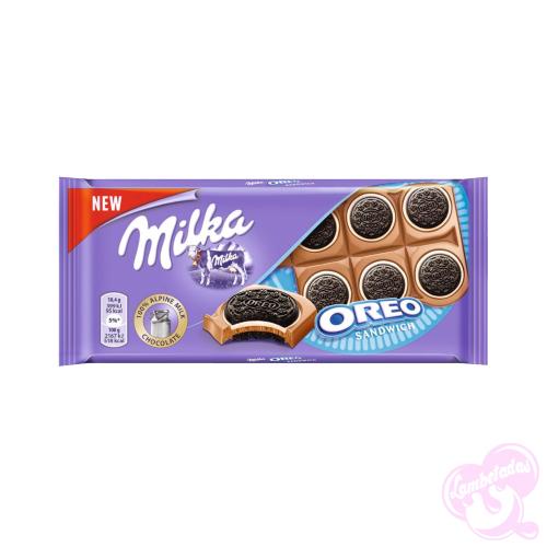 MILKA OREO SANDWICH 92GR