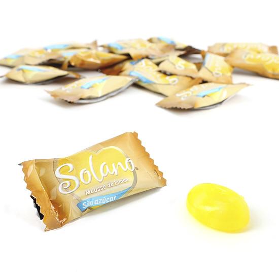 Caramelos Solano con sabor a limón. 100Gr