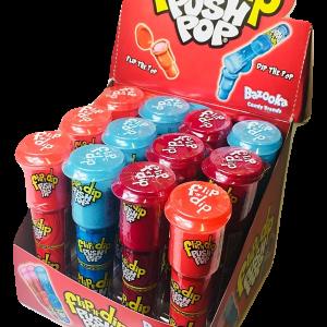 Nueva propuesta de la golosina Push Pop Flip N' Dip.