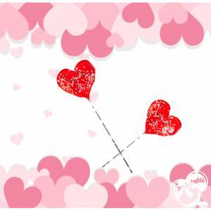 Piruleta caramelo corazón San valentín, regalos originales