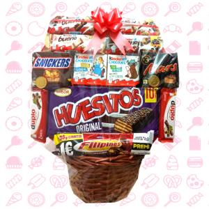 Cesta Chocolates Kinder