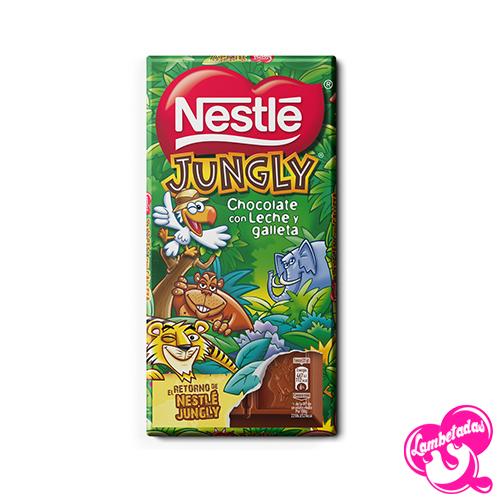 Neslet Jungly, Chocolate con leche y galleta