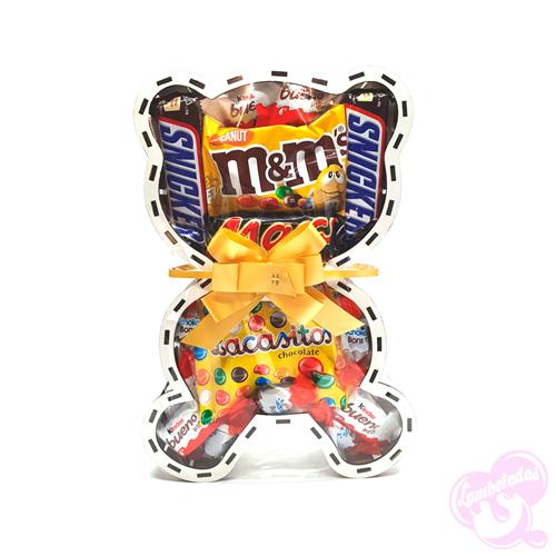 Osito 3D, Pascua, Chocolate, Regalo Original