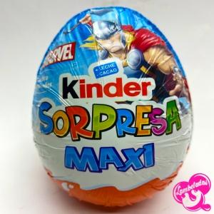 KINDER SORPRESA MAXI MARVEL 100 GR