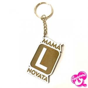 Día de la madre, Regalo original día de la madre, Llavero letras mamá, Llavero mamá novata, Mamá novata