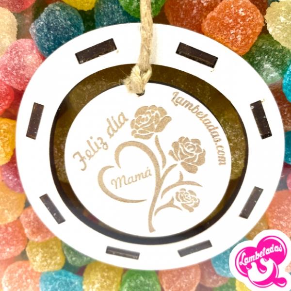 Día de la madre, Regalo original día de la madre,Flor Gominolas, Kinder, Gominolas, Regalo Dulce Original, Regalo día de la madre