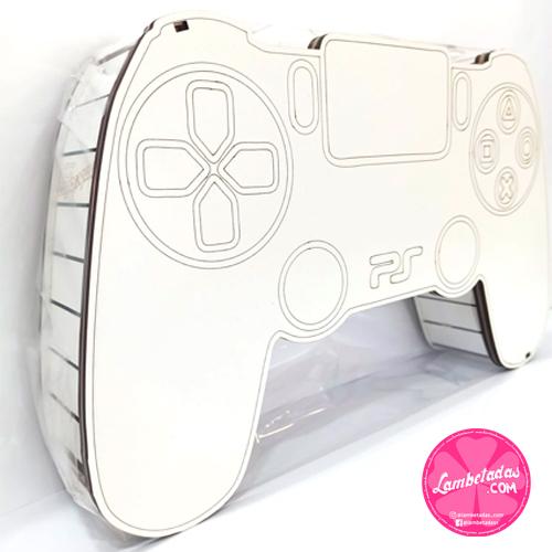 CAJA 3D, MANDO PS5, MANDO PS5, PLAYSTATION, KINDER, REGALO DULCE, REGALO ORIGINAL